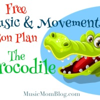 The Crocodile - Music & Movement Lesson Plan