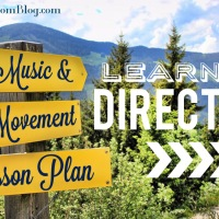 Learning Direction - Music & Movement Lesson Plan