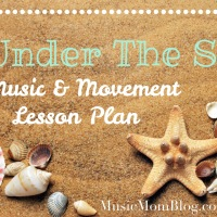 Under The Sea - Music & Movement Lesson Plan