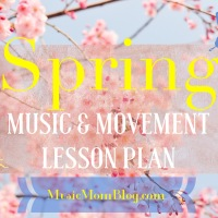 Spring - Music & Movement Lesson Plan